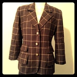 Carlisle Jackets & Coats - 🍁🍂Carlisle Vintage plaid jacket